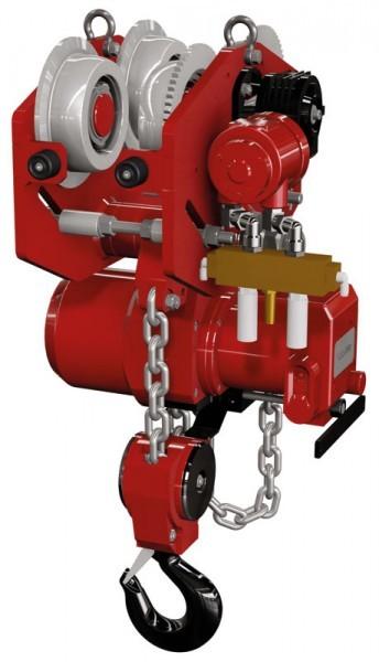 Druckluftkettenzug & Laufkatze 0,25 t - 2 t