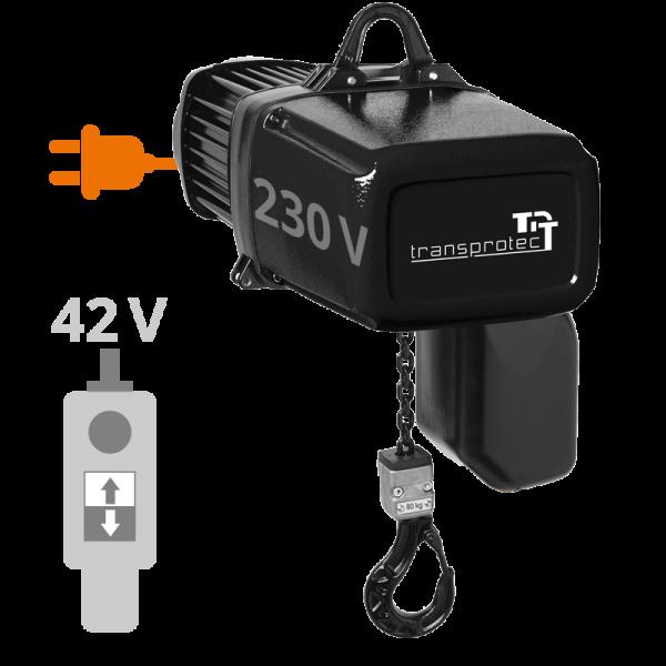Elektrokettenzug 31 T-ECH (230 V) mit Ösenaufhängung