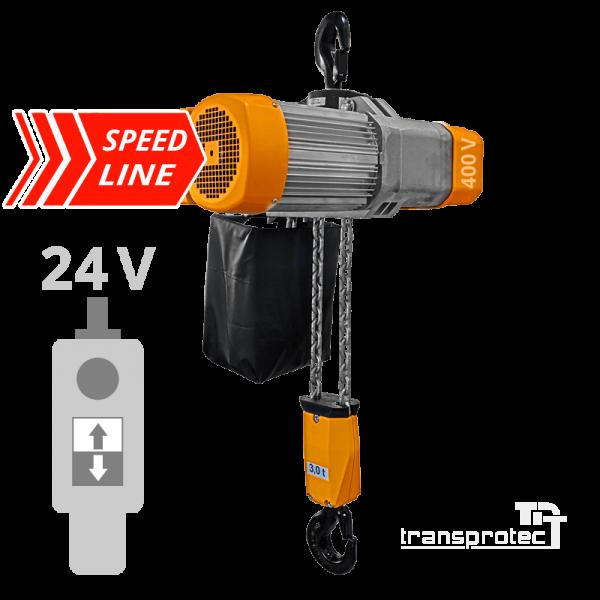 Elektrokettenzug Speed-Line mit Hakenaufhängung