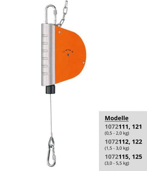 Federzug 1072 kleines Modell (0,5 - 5,5 kg)