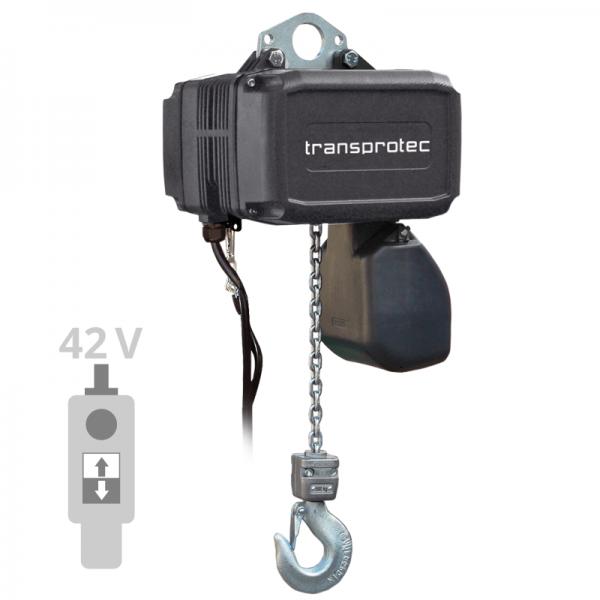 Elektrokettenzug T-GCH mit Schützsteuerung - Ösenaufhängung (IP55)