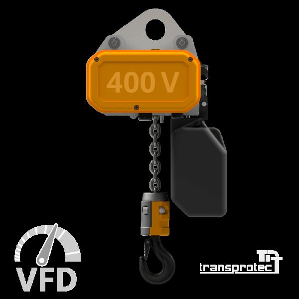 Elektrokettenzug, 400 V, mit Frequenz-Umrichter-Steuerung (VFD)