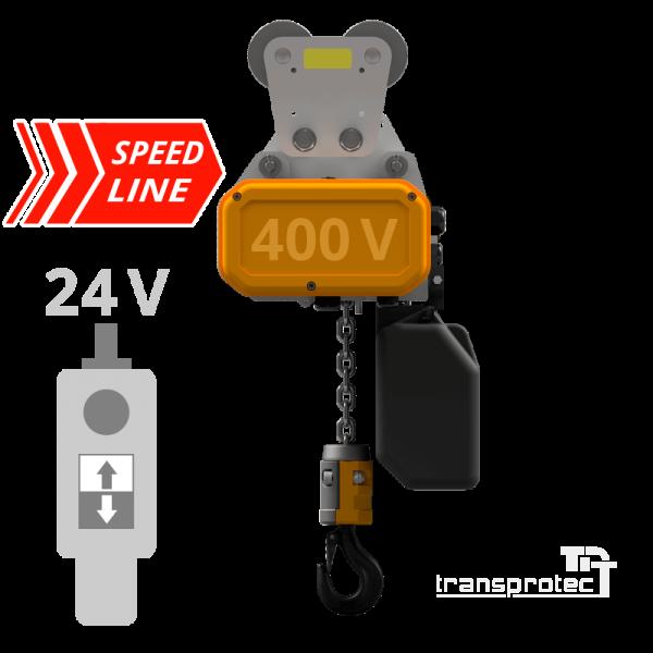 Elektrokettenzug Speed-Line mit Rollfahrwerk