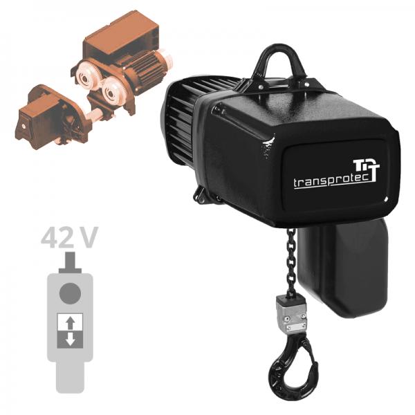 Elektrokettenzug T-ECH mit Elektrofahrwerk