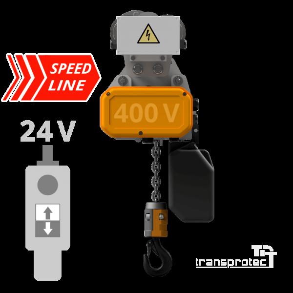 Elektrokettenzug Speed-Line mit Elektrofahrwerk