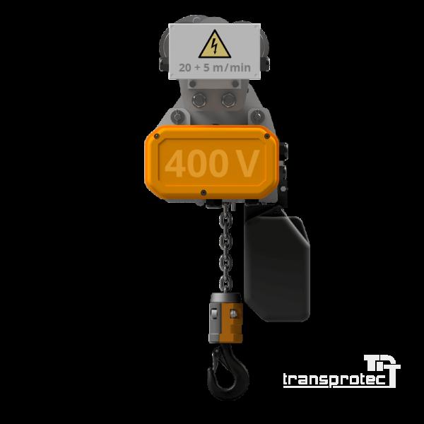 Elektrokettenzug mit Direktsteuerung + Elektrofahrwerk 2
