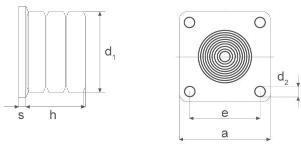 Zellpuffer mit Stahl-Grundplatte