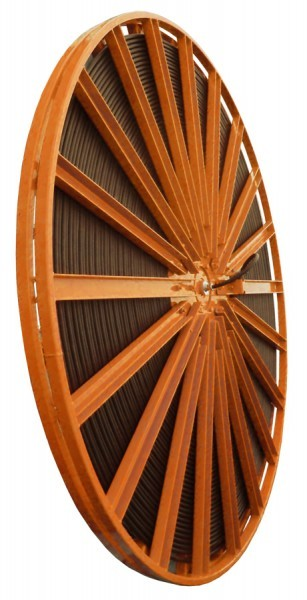 Spiralig wickelnde Motortrommel